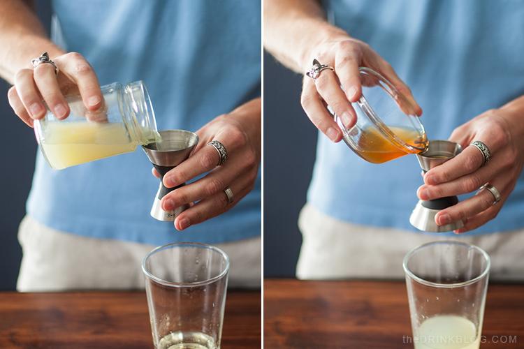 miel et jus de citron vert pour une margarita