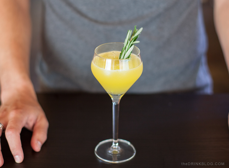 cocktail tournevis romarin