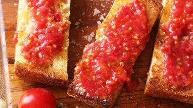 Photo of Recette de Pan con Tomate (pain grillé à la espagnole avec tomate)