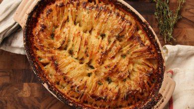 Photo of Recette de gratin de pommes de terre Hasselback