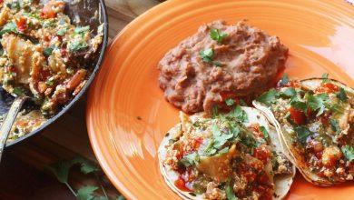 Photo of Recette de Migas végétaliens (tortillas frites à la mexicaine avec tofu)
