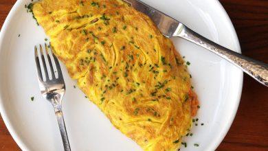 Photo of Omelette au jambon et au fromage pour deux personnes