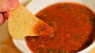 Photo of Recette de salsa aux tomates rôties