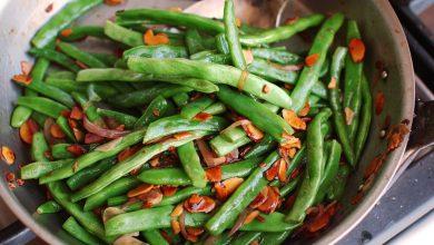 Photo of Haricots Verts Amandine (haricots verts à la française aux amandes)