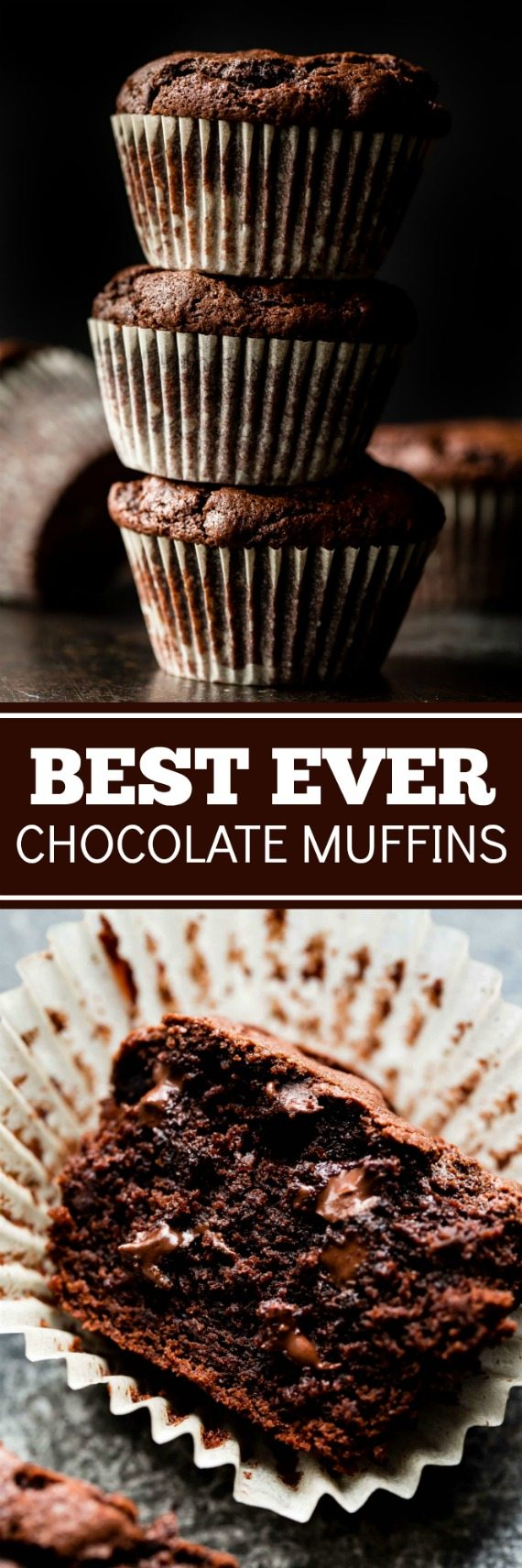 Muffins au chocolat triple - Recettes du Monde