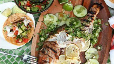 Photo of Recette de tacos au poisson grillé entier