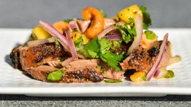 Photo of Recette de salade de canard épicé à la thaïlandaise