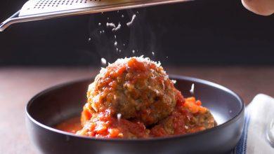 Photo of Boulettes de viande juteuses et tendres italo-américaines dans une recette de sauce rouge