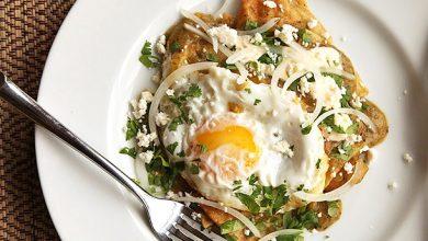 Photo of Chilaquiles Verdes avec recette d'oeufs frits
