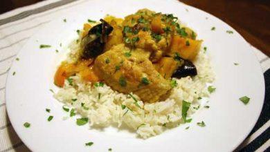 Photo of Dîner ce soir: recette de poulet marocain aux kumquats et aux pruneaux