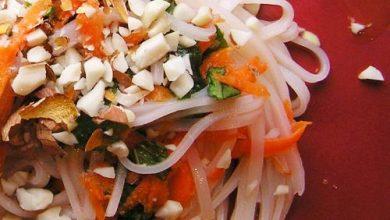 Photo of Dîner ce soir: recette de salade vietnamienne de nouilles de riz