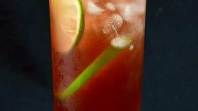 Photo of El Diablo Cocktail