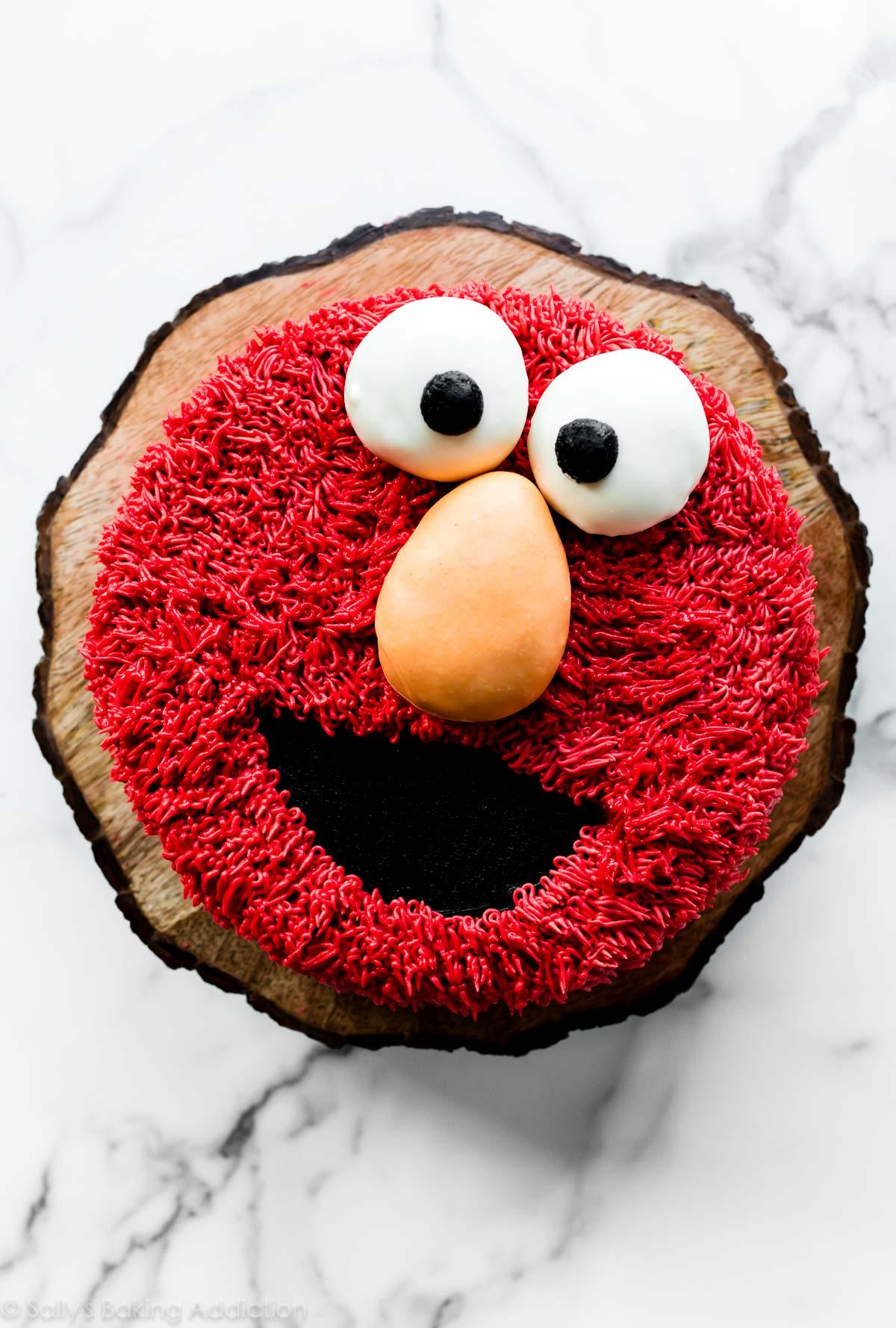 gâteau elmo