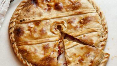 Photo of Empanada au porc mariné et poivrons rouges rôtis (Empanada de Lomo) d'Espagne