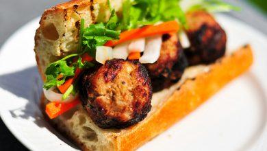 Photo of Griller: Recette vietnamienne de boulettes de viande Banh Mi