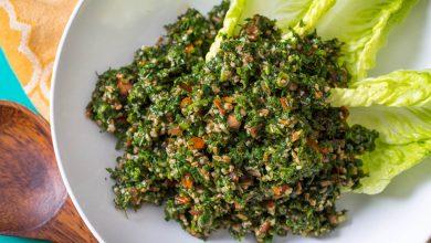 Photo of La meilleure recette de salade de taboulé