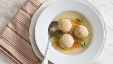 Photo of La meilleure recette de soupe aux boules de pain azyme