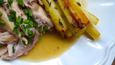 Photo of Lapin braisé aux recettes de panais