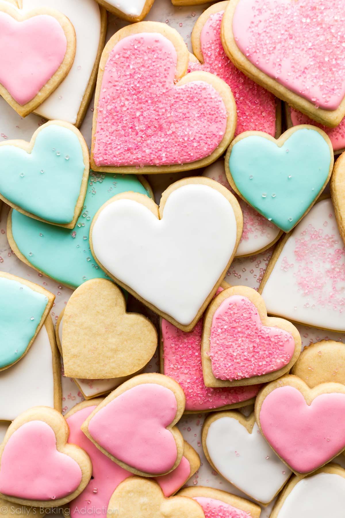 biscuits au sucre décorés