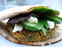 Photo of Meat Lite: Lamb Falafel Burgers Recipe
