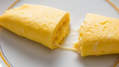 Photo of Omelette française avec recette de fromage