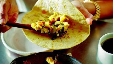 Photo of Petit-déjeuner solitaire Taco de «Tacolicious»