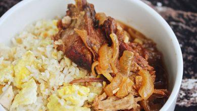 Photo of Porc philippin à la mijoteuse avec recette de riz frit à l'ail