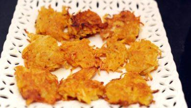 Photo of Recette Latkes de pommes de terre à la citrouille