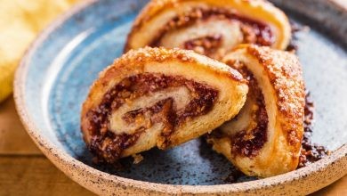 Photo of Recette Rugelach framboise-amande