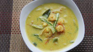 Photo of Recette de Kerala Shrimp Moilee (soupe de crevettes au curry et noix de coco)