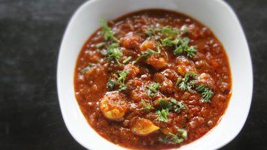 Photo of Recette de Patia aux crevettes (crevettes indiennes sucrées et épicées)