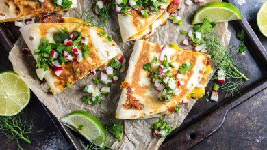 Photo of Recette de Quesadillas au Chorizo avec Radis et Salsa au Fenouil