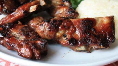 Photo of Recette de cou de porc grillé à la thaïlandaise