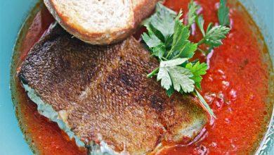 Photo of Recette de morue à l'espagnole dans un bouillon de chorizo et de tomates