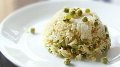 Photo of Recette de riz basmati et pois pilaf (Peas Pulao)