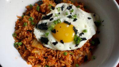 Photo of Recette de riz frit au kimchi