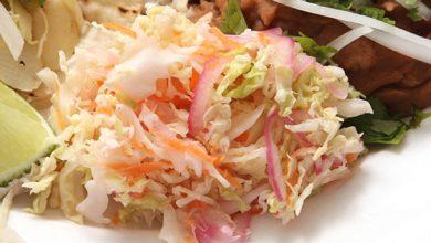 Photo of Recette de salade de chou épicé (végétalien)