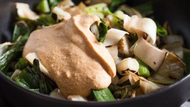 Photo of Recette de salade de légumes grillés d'inspiration catalane (Xató)