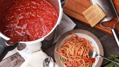 Photo of Recette de sauce tomate à l'autocuiseur