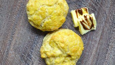 Photo of Recette de scones au cheddar et à la marmite