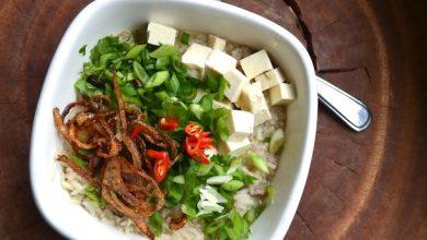 Photo of Recette de soupe au riz thaï Khao Tom
