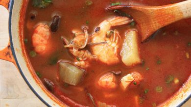 Photo of Recette de soupe aux fruits de mer coréenne épicée