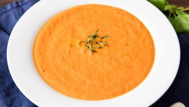 Photo of Recette de soupe aux tomates épaisse et crémeuse