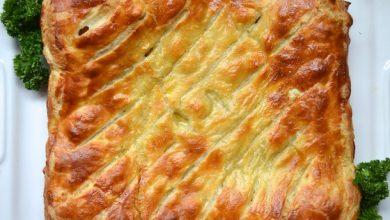 Photo of Recette de tarte au poulet et aux poireaux