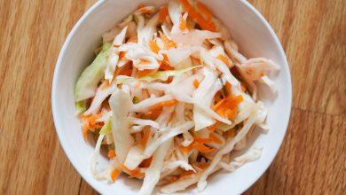 Photo of Recette rapide de Curtido (salade de chou mexicaine)