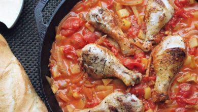 Photo of Recette simple de bouillabaisse de poulet en un seul pot