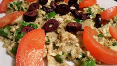 Photo of Sain et délicieux: Oeufs brouillés aux oignons verts avec recette de cumin