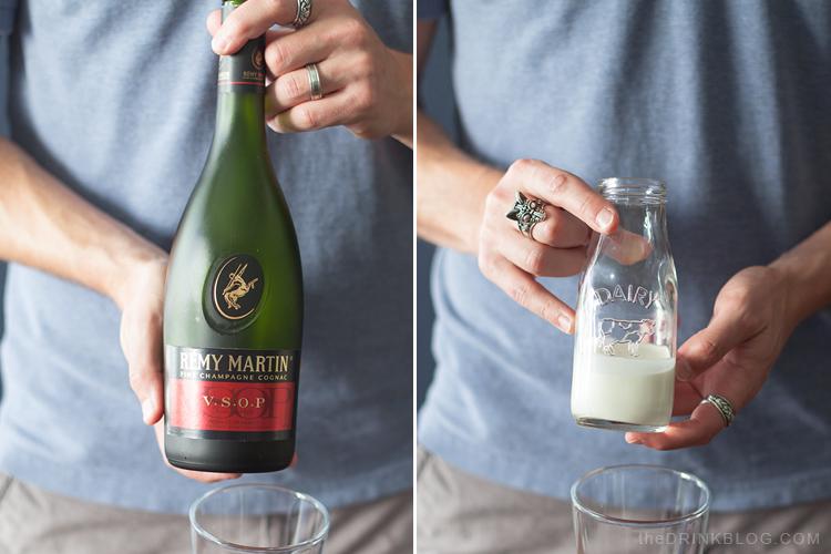 Cognac et crème pour la meilleure sauterelle que vous ayez jamais eue. Sérieusement.