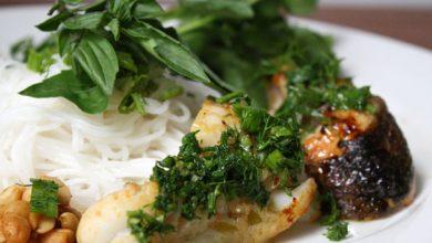 Photo of Sérieusement asiatique: Chả Cá, recette de poisson poêlé au curcuma sur des nouilles de riz