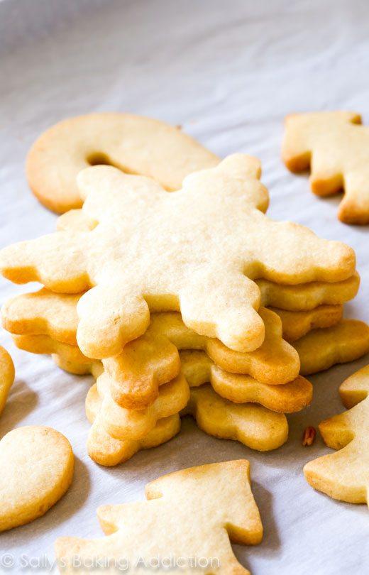 La meilleure recette de biscuits au sucre découpés pour les fêtes